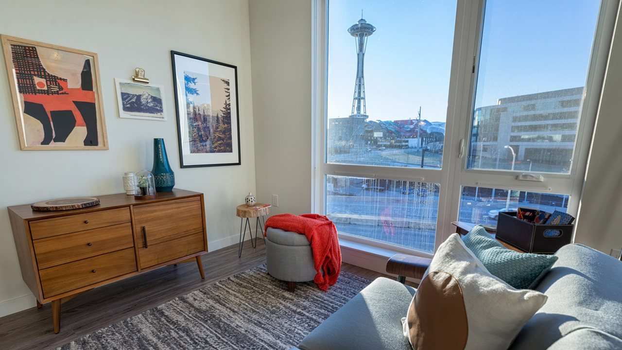 Image of Studio, one, two, and three bedroom apartments for Modera South Lake Union