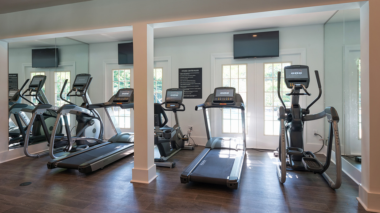 Cardio Machines in Fitness Center | Alister Quincy