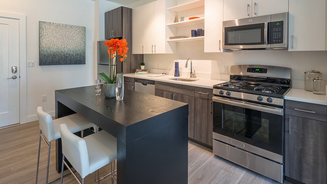 Modern Kitchens with Stainless Steel Appliances | Modera Hopkinton