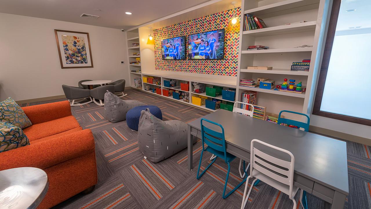 Convenient Children\'s Recreation Room | Modera Hopkinton