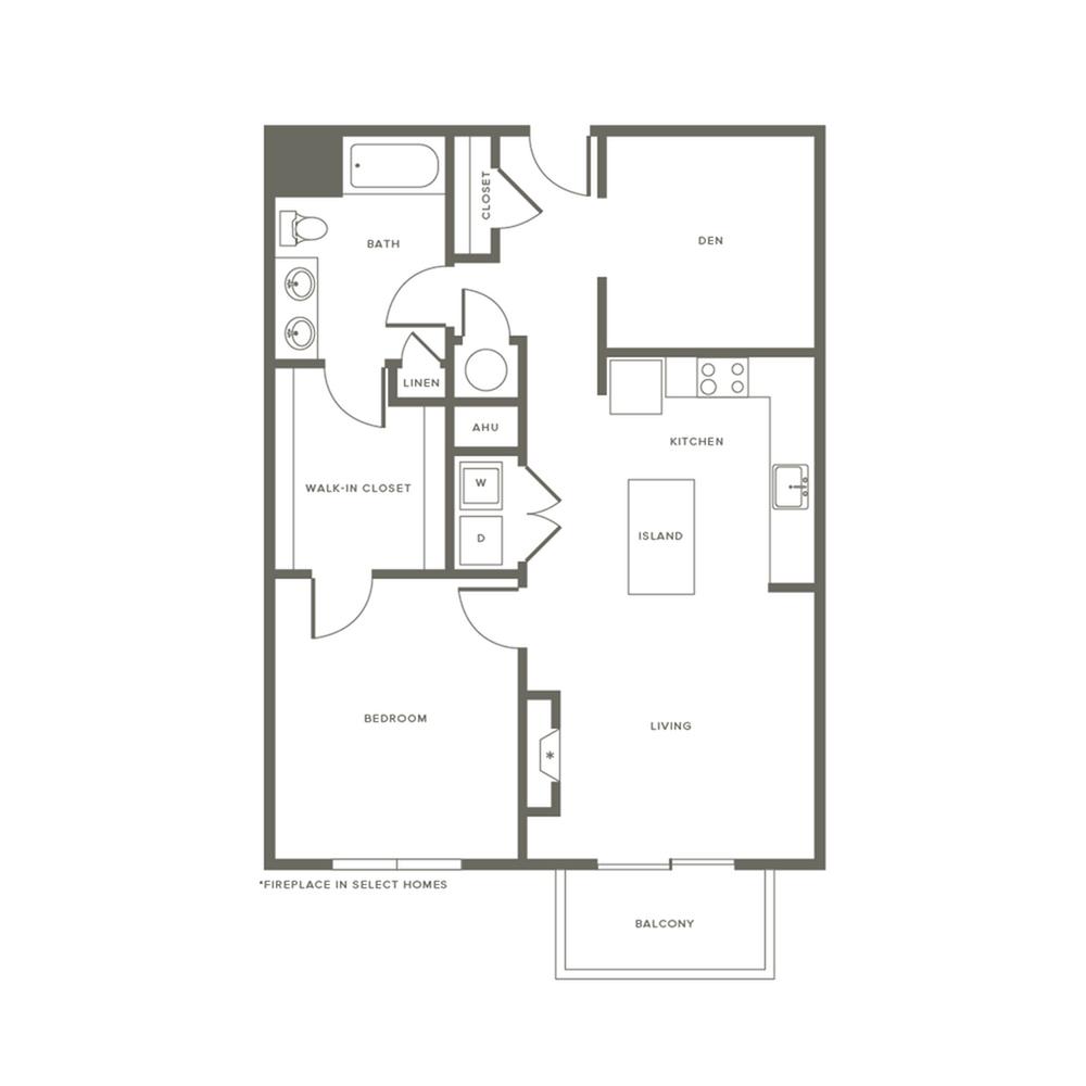 Floor Plan AD2 | Modera Needham | Apartments Near Needham MA