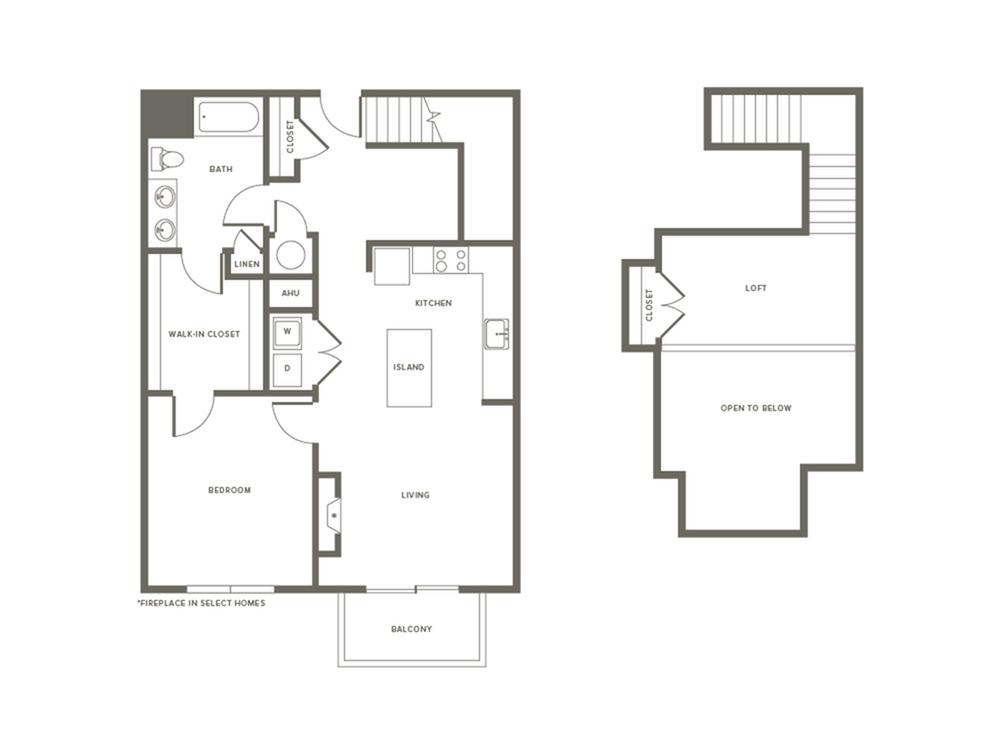 Floor Plan A2L | Modera Needham | Apartments Needham MA