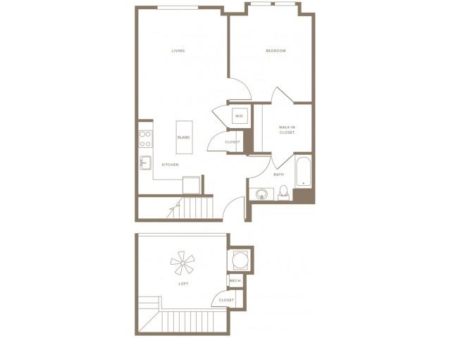 1x1 loft