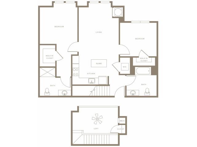 2x2 loft