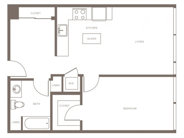 One Bedroom - A2.1