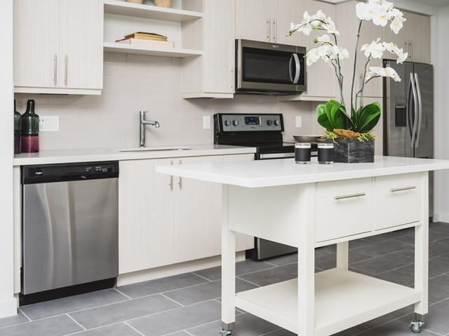 Image of Custom cabinetry for Modera Edgewater