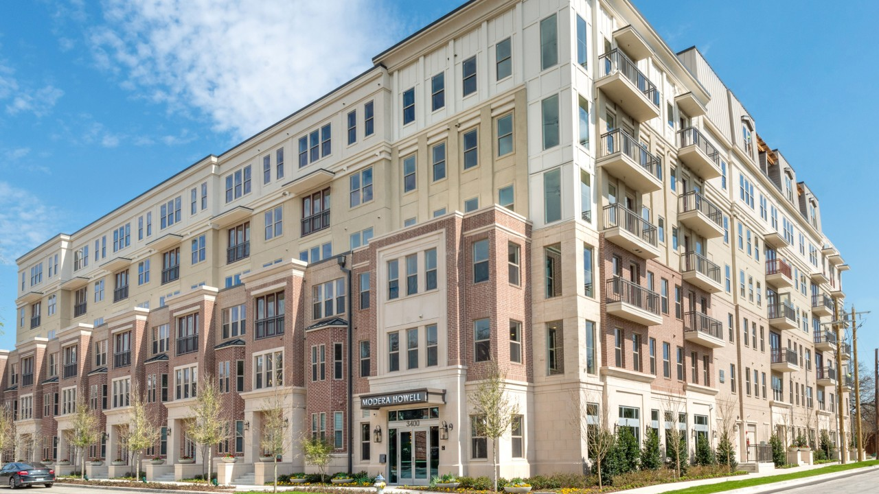Six-story boutique apartment community set in Dallas\' dynamic Uptown neighborhood