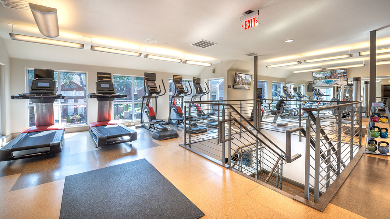 Image of On-site fitness center for Lakewood on the Trail