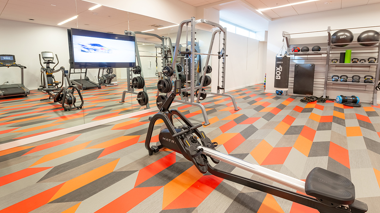 State-of-the-Art Fitness Center | Modera Jackson | Mill Creek Residential | Apartment Homes | Near Seattle