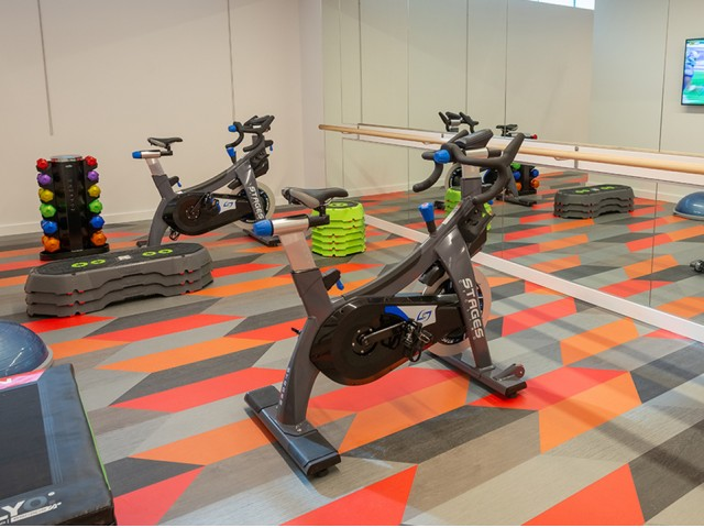 Image of Spin room with Fitness on Demand for Modera Jackson