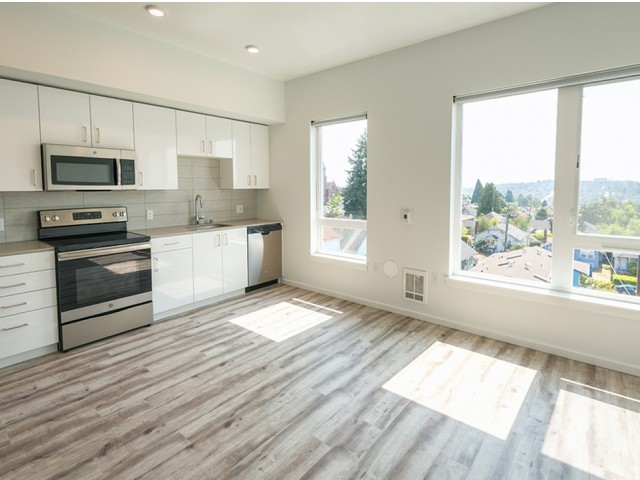 Image of Vinyl plank flooring throughout homes for Modera Jackson