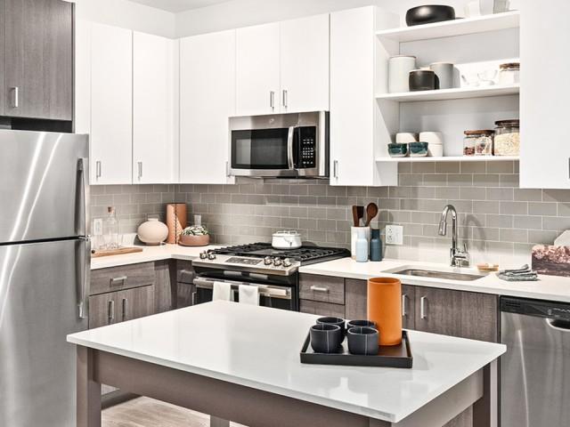 Stunning kitchens at Modera Framingham