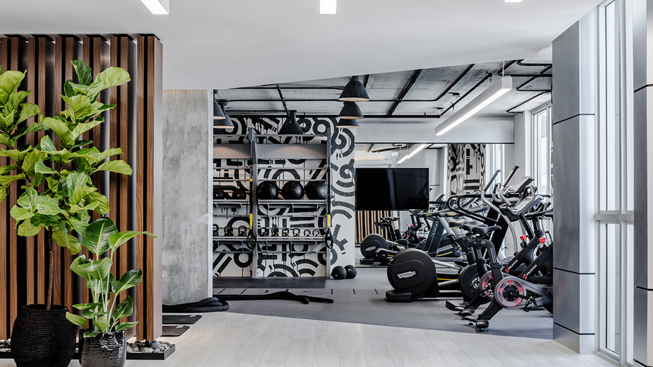 Well Appointed Fitness Center