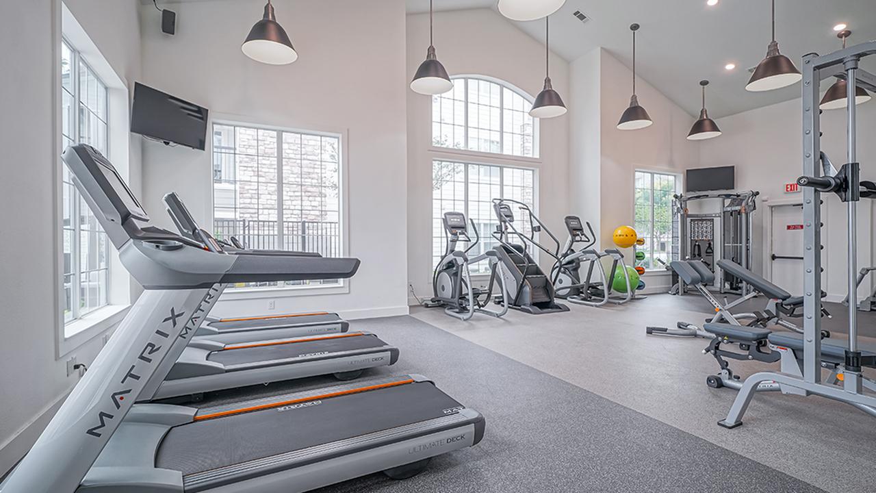 Cardio equipment including treadmills and elliptical machines