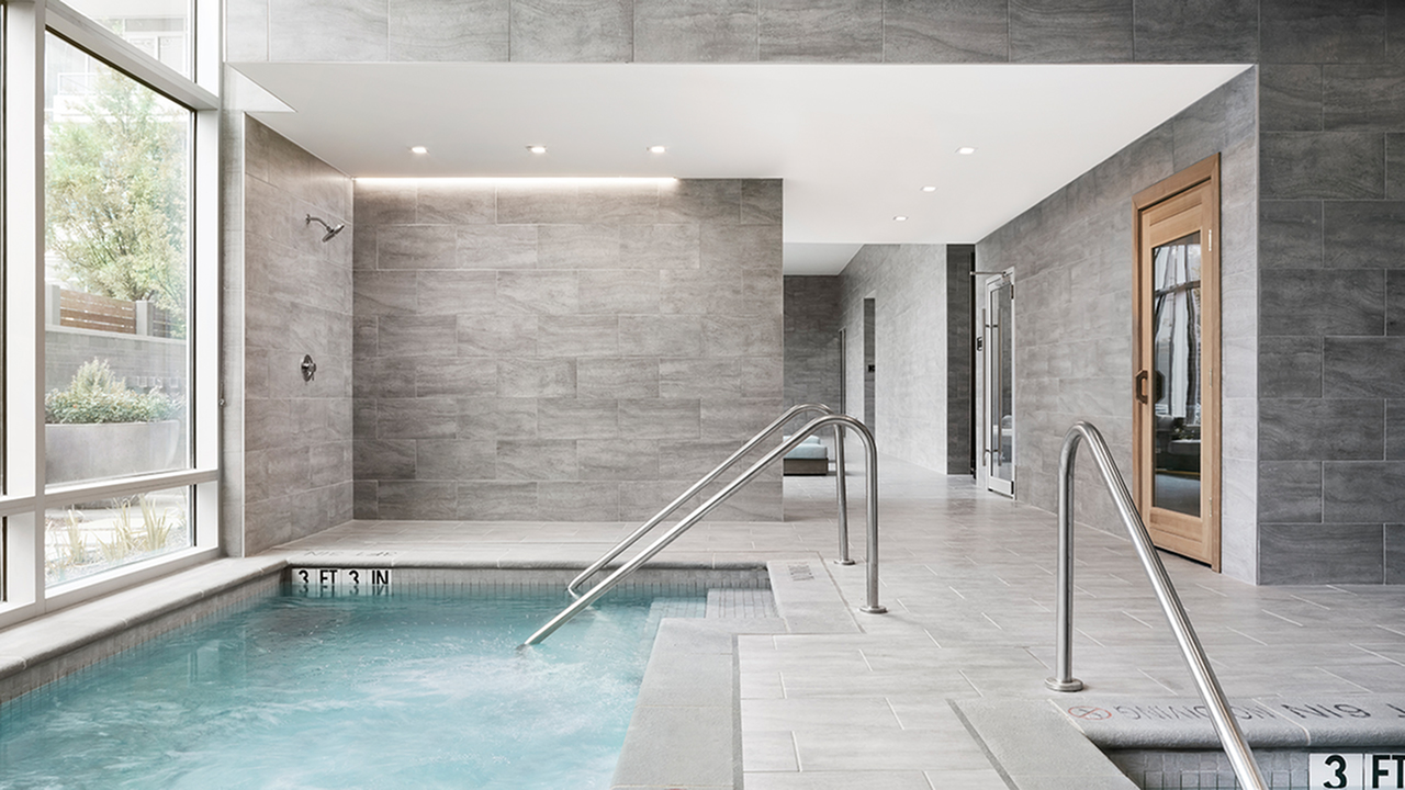 Wellness Spa with Massage Room, Hot Tub and Cold Plunge