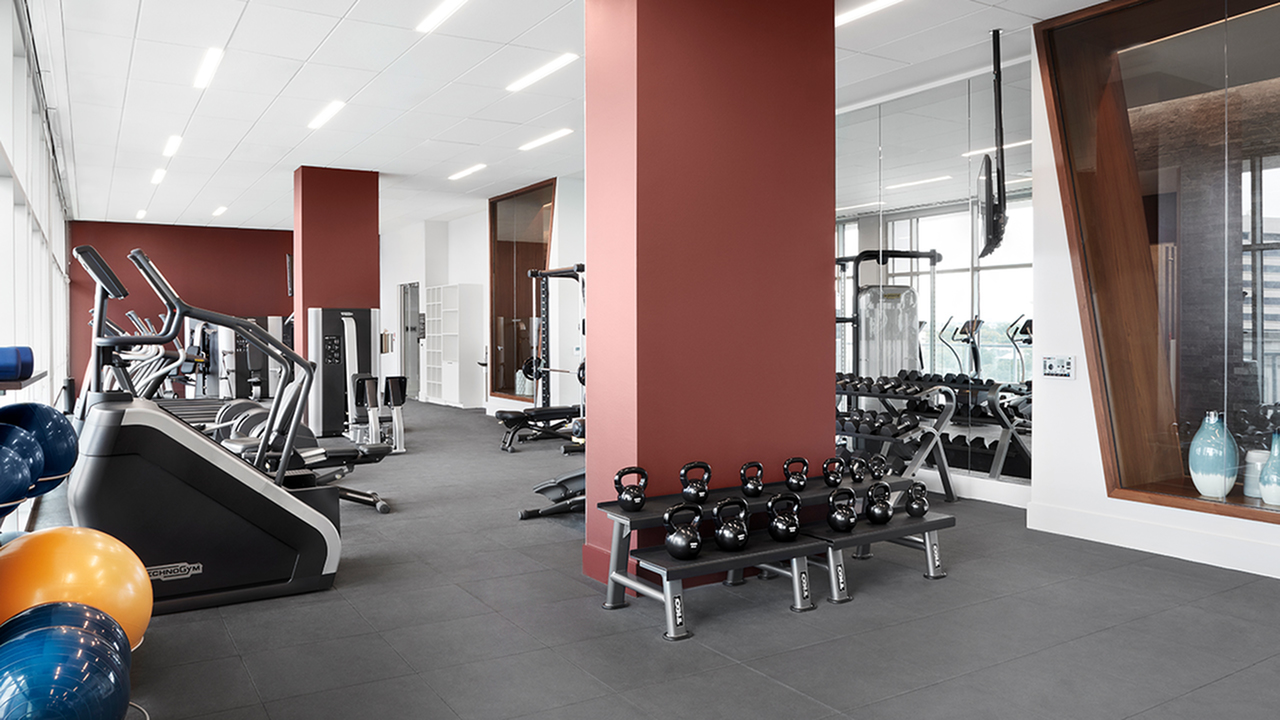Fitness Center with Technogym® Cardio and Weight Equipment