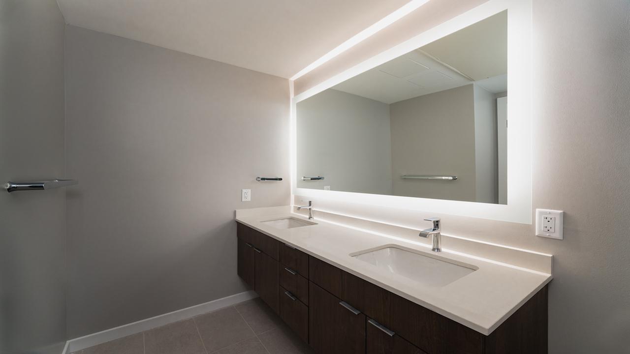 floating bathroom vanities with double vanities in some homes
