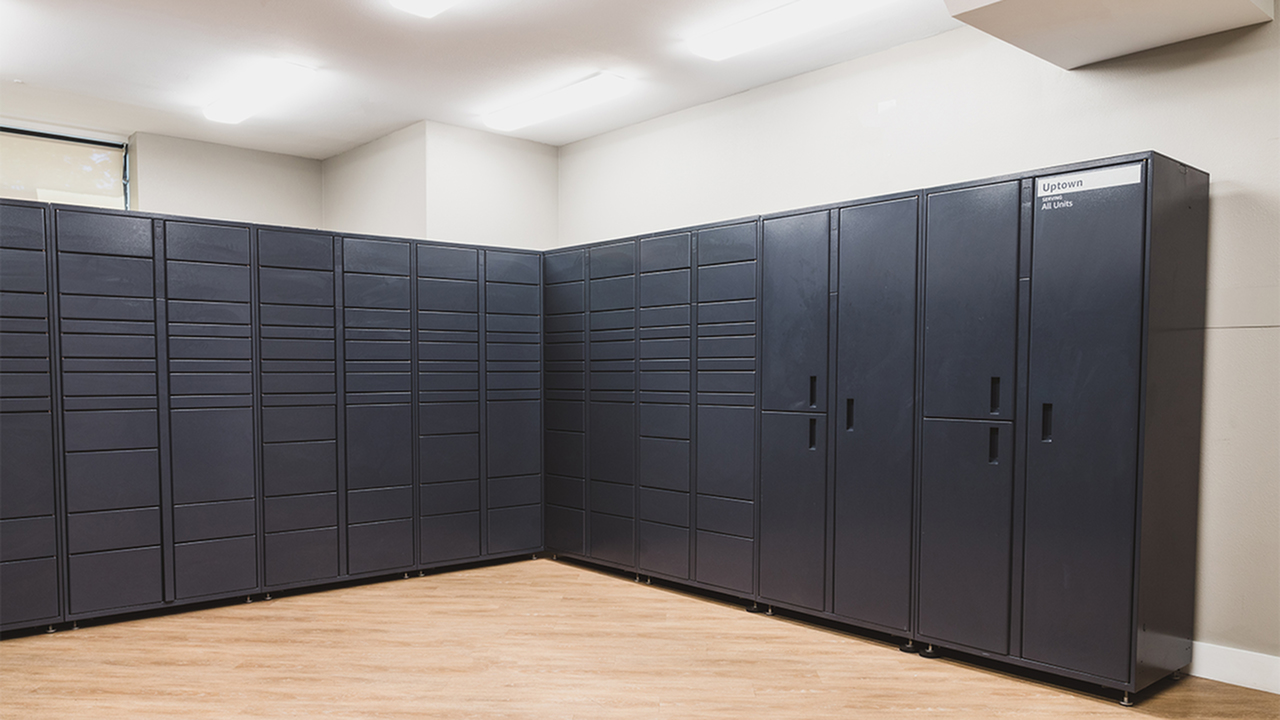 Amazon Hub package lockers