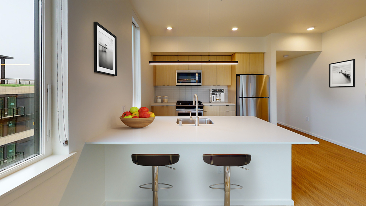 Beautiful kitchens with custom wood cabinetry and stainless steel appliances