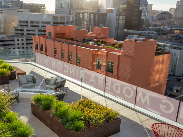 Rincon hill outdoor terrace and lounge