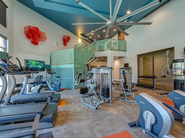 Multi level fitness center