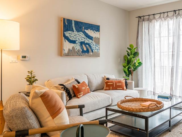 Modera Marshfield living room image
