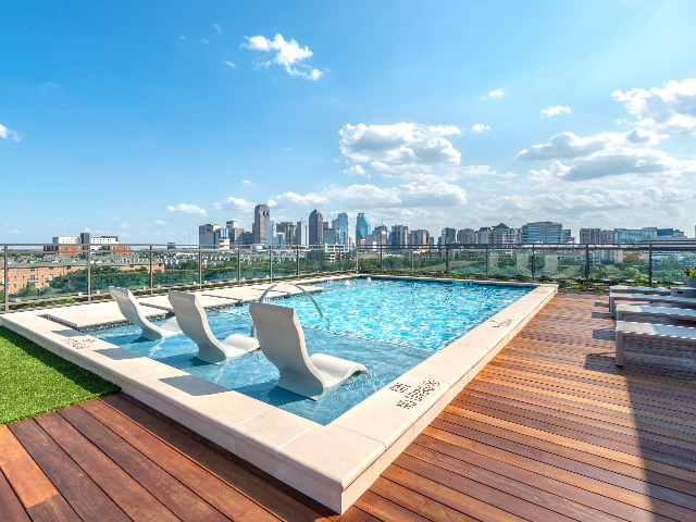 Modera Howell outdoor, rooftop pool and deck image