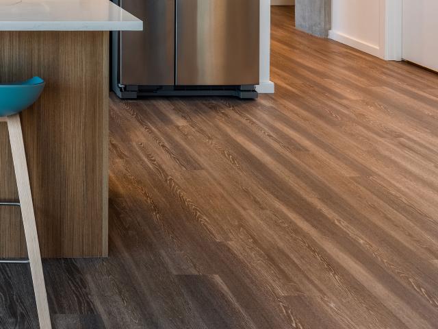 Modera Akoya hard-wood inspired plank-style flooring image