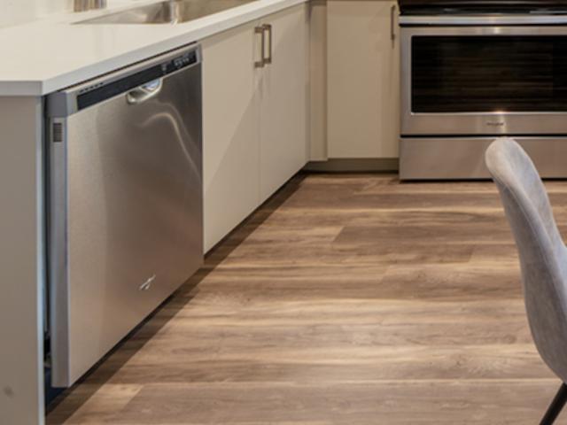 Wood plank flooring image