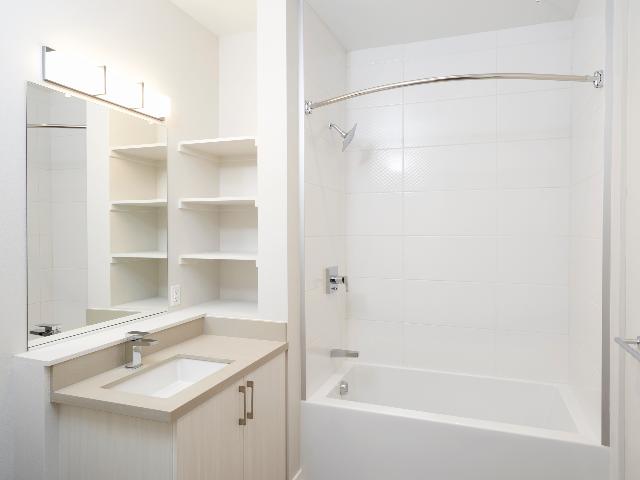 Spa inspired bathroom image