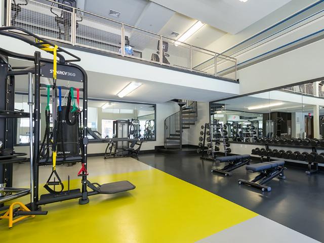 24-hour club quality fitness center