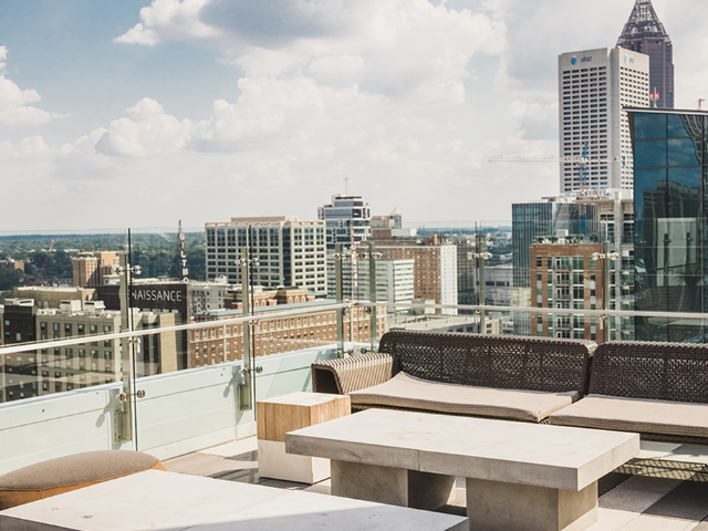 Stunning views from our scenic sky lounge