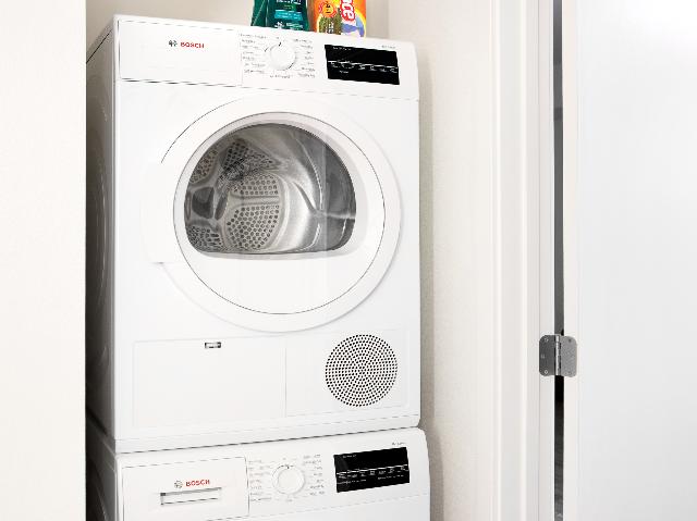 Bosch washer and dryer