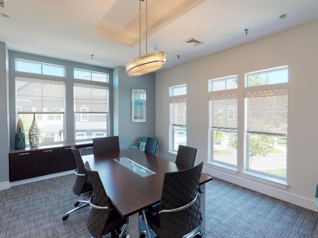Conference Room with Over Sized Window
