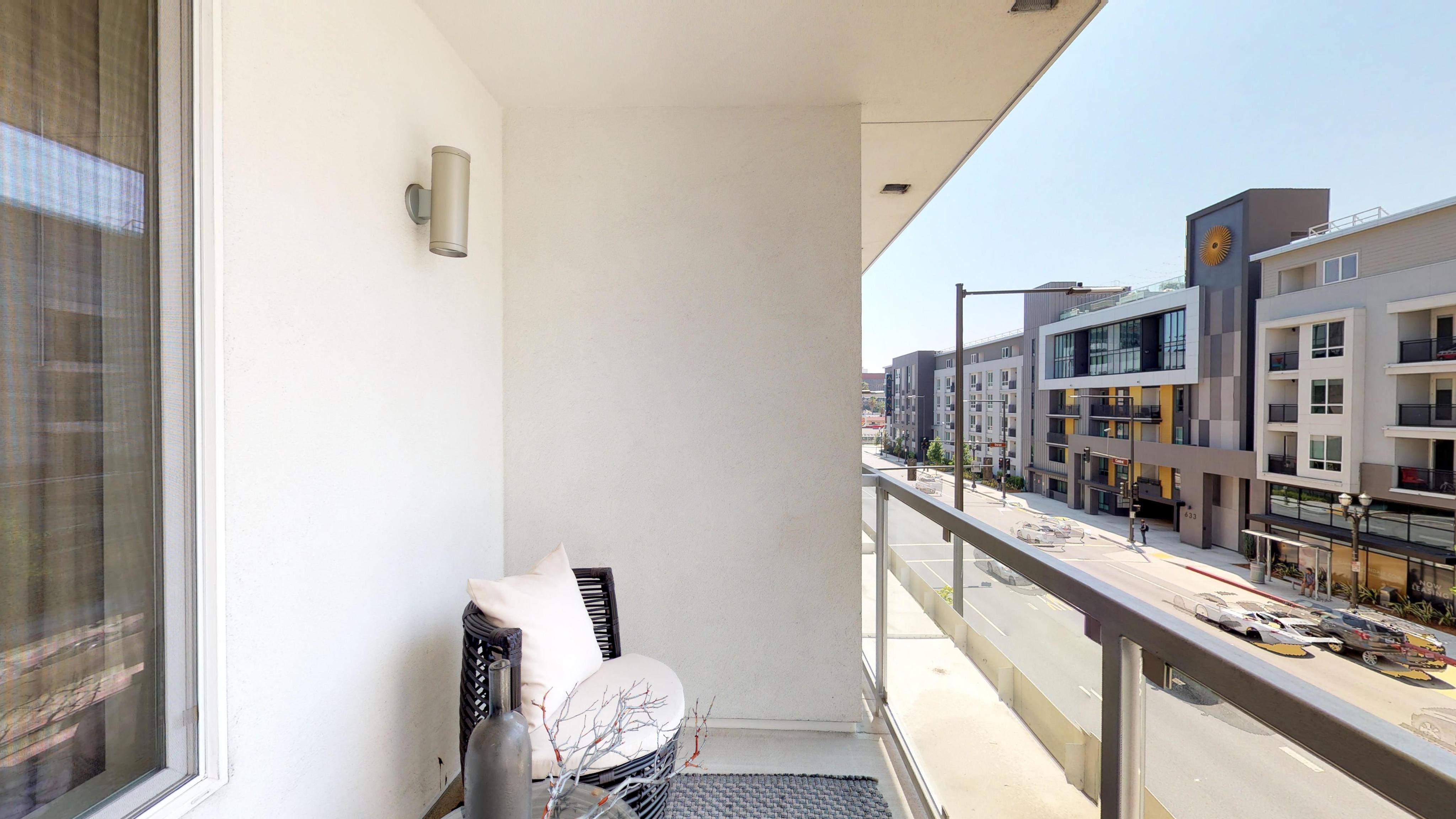 Exterior balcony