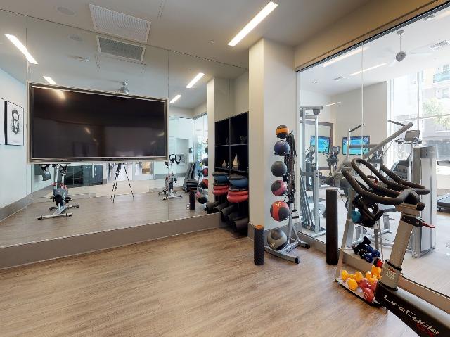 Yoga, pilates or spin studio