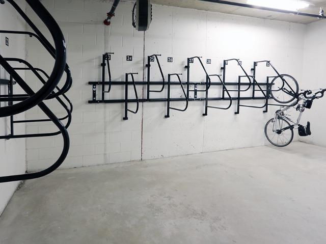 Bike storage image at Modera 44