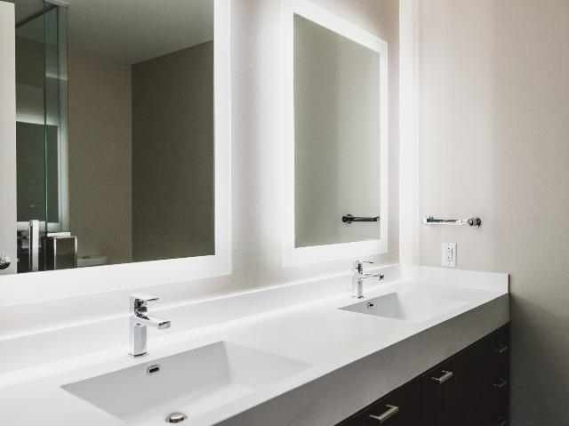 Bathroom led mirrors