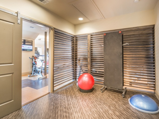 Fitness studio for yoga or meditation