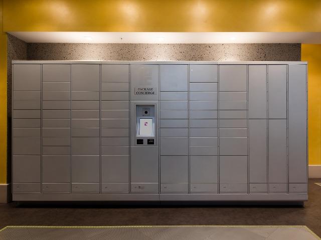Image of package lockers