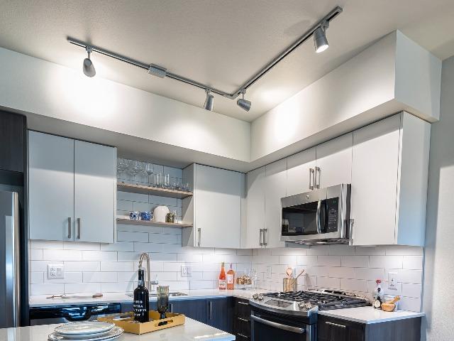 Adjustable kitchen lighting