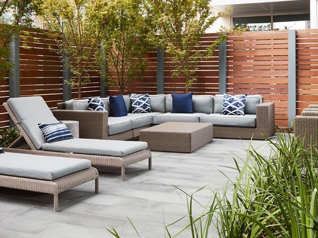 Image of garden terrace