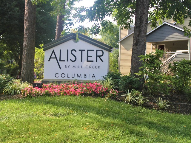 Image of green space at Alister Columbia