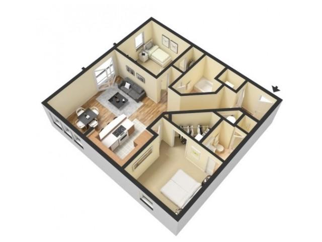 Floor Plan 4 | Kansas City Missouri Apartments | 45 Madison