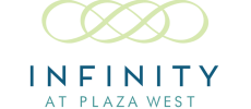 Infinity at Plaza West Logo | Apartments In South Kansas City | Infinity at Plaza West