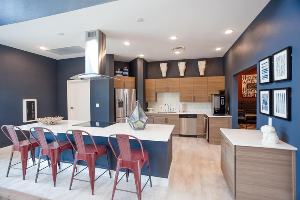 Spacious Resident Club House | Kansas City Apartments | Kinsley Forest