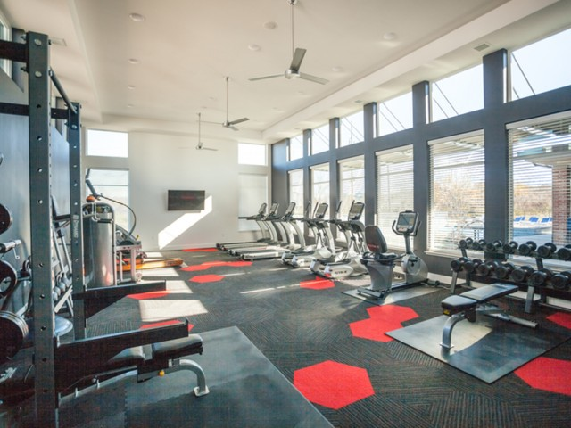Resident Fitness Center | Apartment Homes In Lees Summit | Summit Square