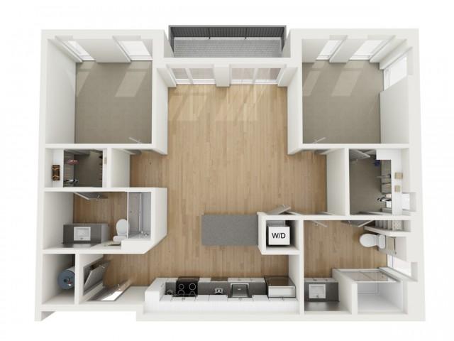 B4 Two Bedroom