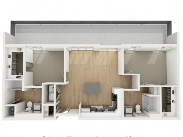 B3 Two Bedroom