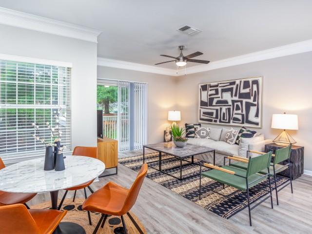 Premium 1 Bedroom Living Space